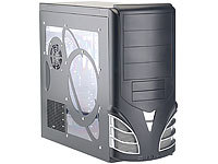 "Mod-it PC-Design-Gehäuse ""Style Tower"" schwarz"