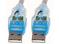 Mod-it USB2.0 Flash Kabel blau, 1,8m A-Stecker/A-Buchse