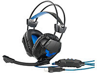 Mod-it USB-Gaming-Headset mit Kabelfernbedienung & Stummschalt-Funktion